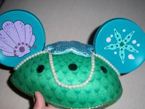 Little Mermaid Mouse Ears
