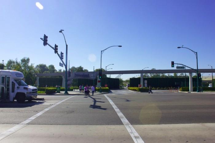 Looking across Harbor toward Disneyland Resort