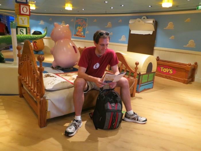 Andy's Room in Oceaneer Club
