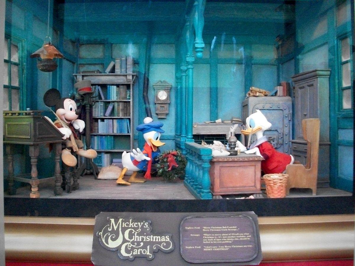 Disney World Christmas Trees