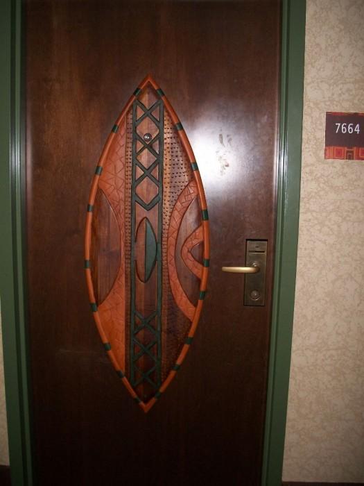 Our Deluxe Villa Door