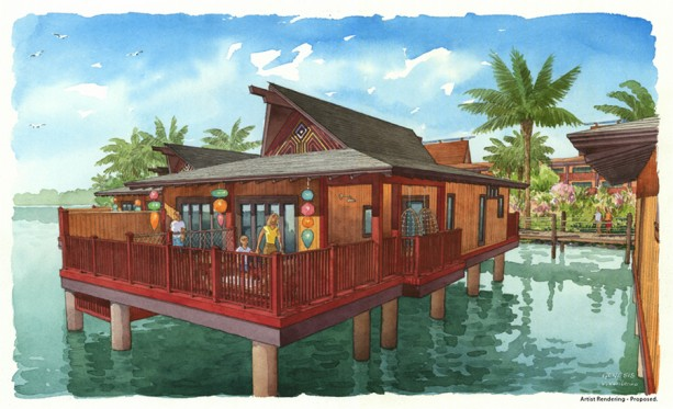 updated details on disney vacation club expansion for disney 39 s polynesian village resort. Black Bedroom Furniture Sets. Home Design Ideas
