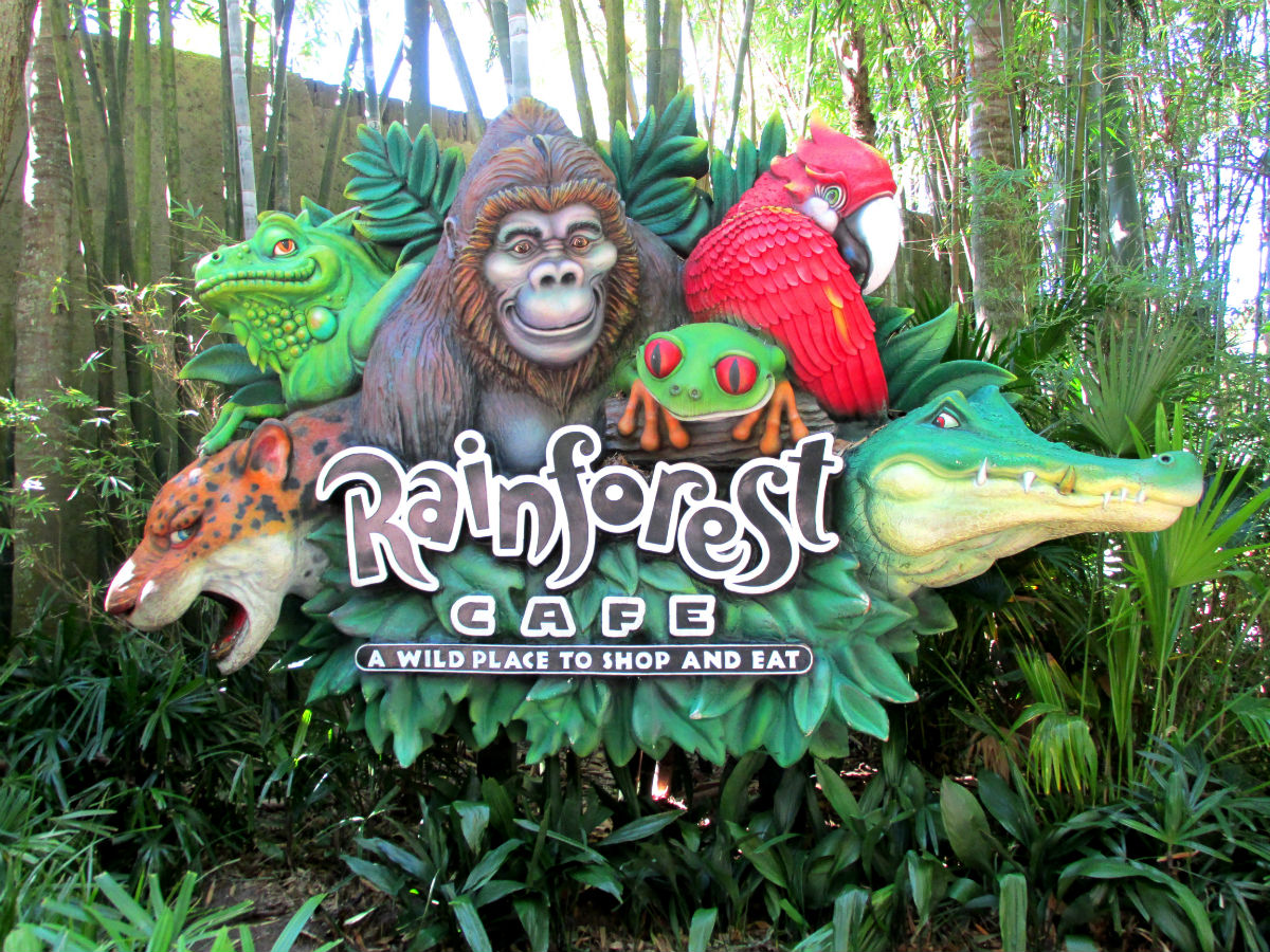 Rainforest Cafe Downtown Dallas