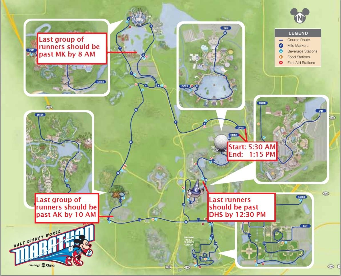 how next week s disney marathon will affect park crowds