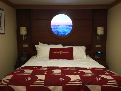 Virtual Porthole On The Disney Fantasy