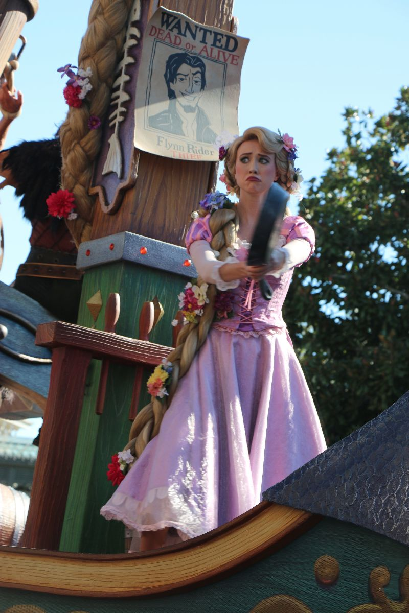 Everything princess at walt disney world touringplans blog rapunzel in the festival of fantasy parade m4hsunfo