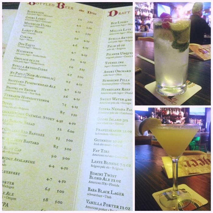 Preacher Bar Drinks - Natalie Reinert