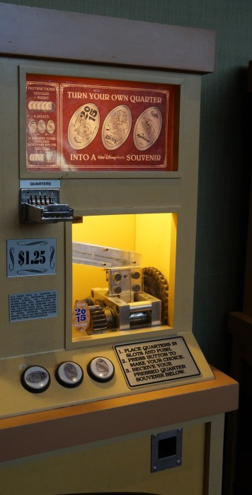 Even at $1.25 for a pressed quarter, it still is a bargain souvenir. (Photo by Julia Mascardo)