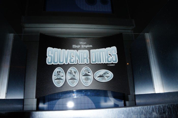 The ultra-rare Souvenir Dimes are only found in Tomorrowland, because in the future, pennies might have gone extinct. (Photo by Julia Mascardo)