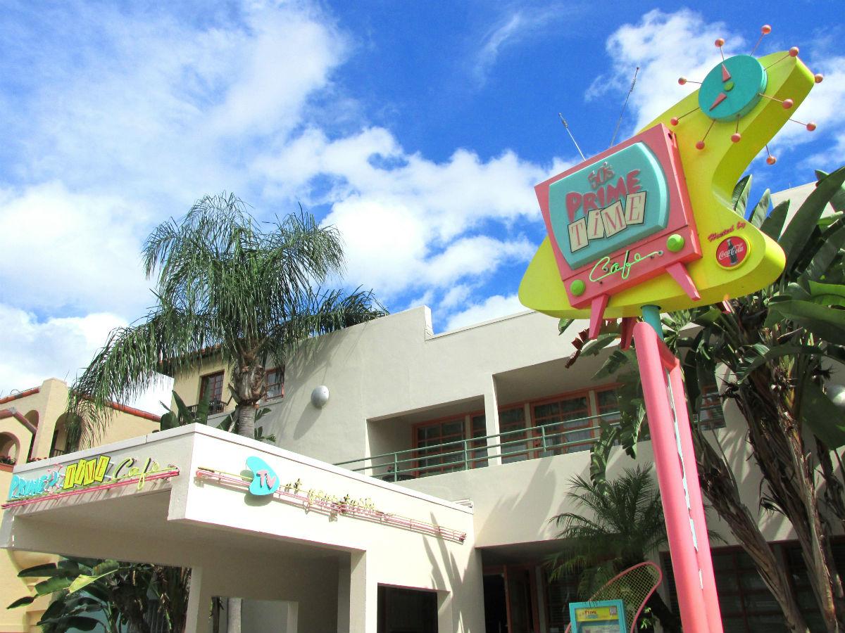 Walt Disney World S Prime Time Cafe Menu