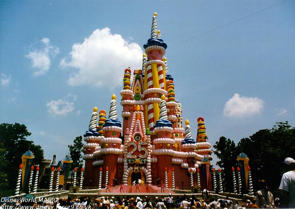 Cinderella Castle Cake WDWMagic