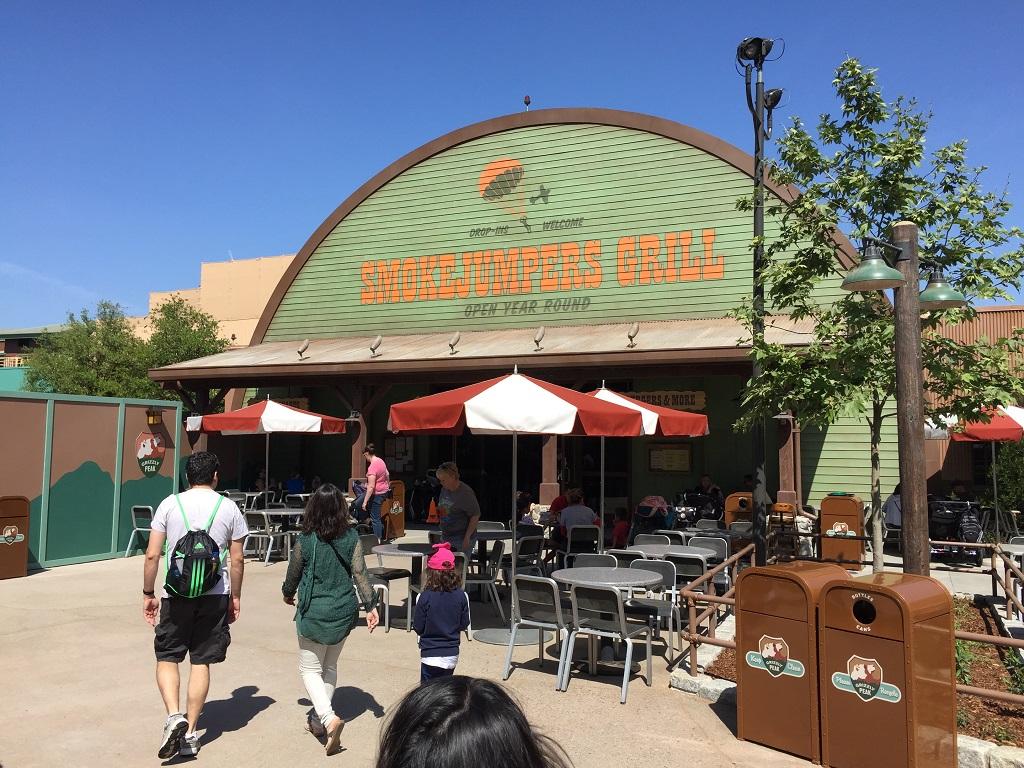 Smokejumpers Grill Opened Today At Disney California Adventure It Replaced Taste Pilots Which Was One Of Dca S Opening Day Restaurants
