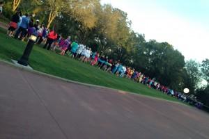 runDisney Minnie Mouse Line