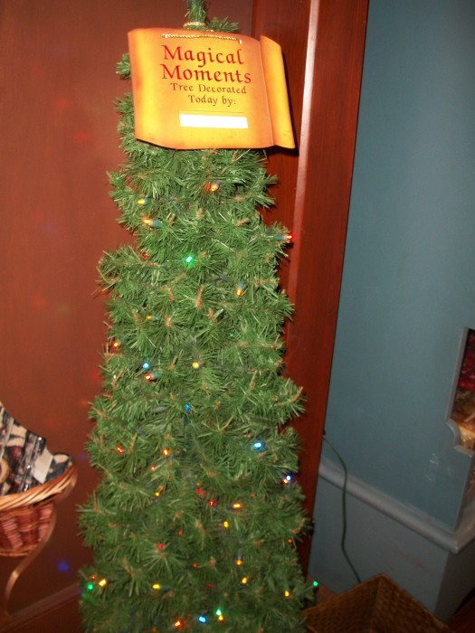 Decorate a Christmas Tree at Ye Olde Christmas Shoppe