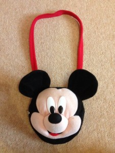Wal-Mart Mickey Mouse Purse