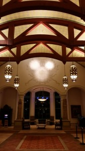 Coronado Springs hidden mickey lobby - Amy Farkas