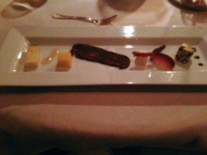 The cheese plate. (Photo by Julia Mascardo)