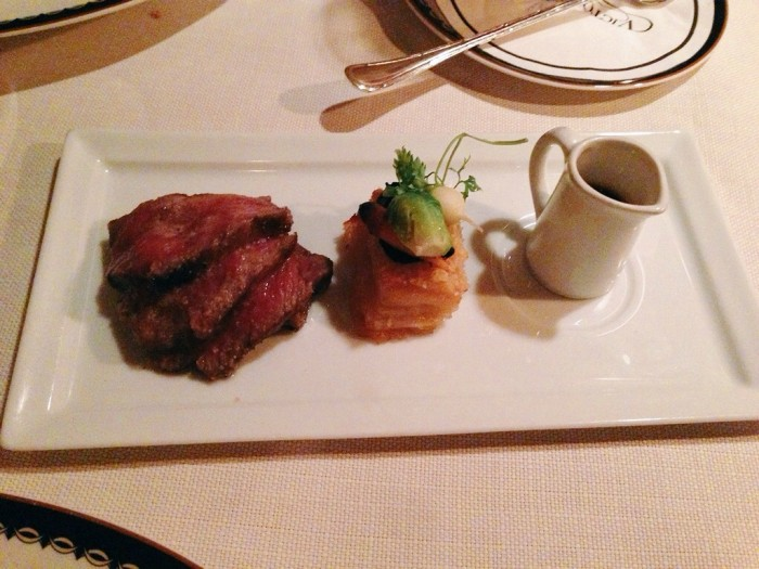 The waygu beef is by far the most luxurious food I have ever eaten. (Photo by Julia Mascardo)