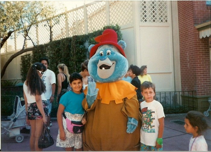 Picture from my disposable camera from my Disneyland trip-1989