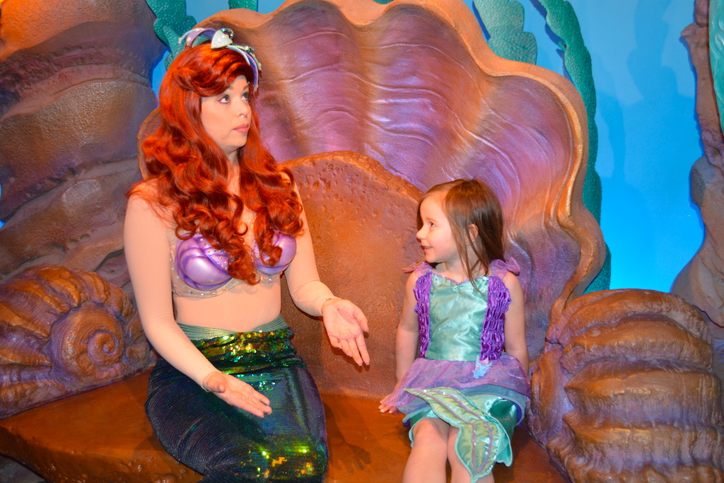 Top six meet and greets in the magic kingdom ariel1 m4hsunfo