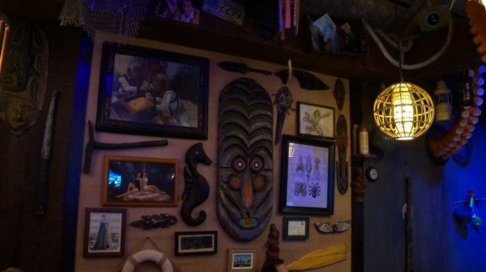 Lots of details to see inside Trader Sam's Grog Grotto