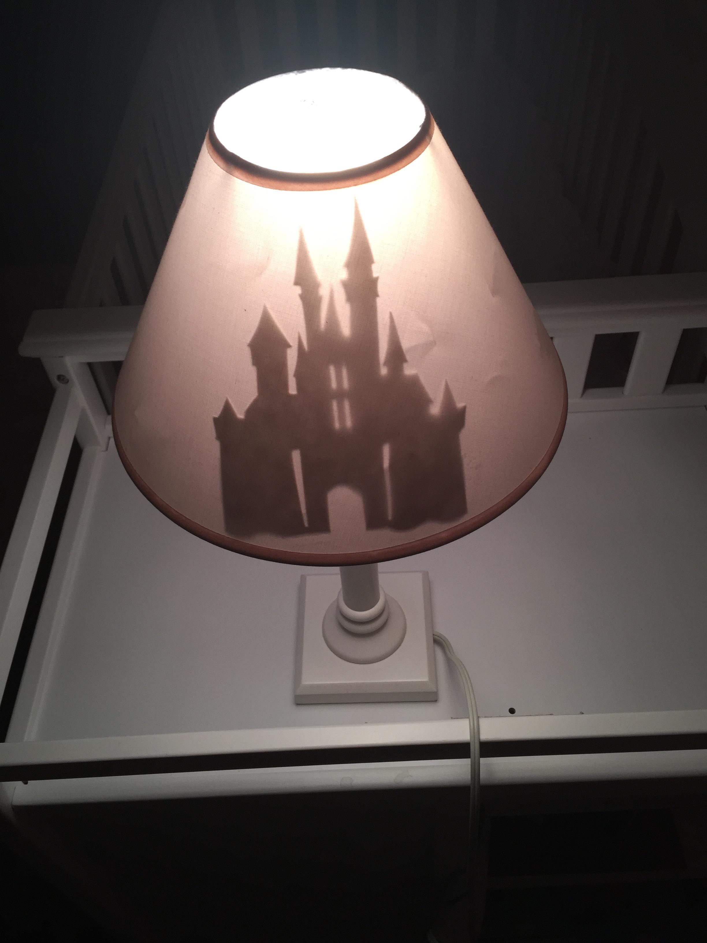 Diy disney lamp shade touringplans blog photo angela dahlgren mozeypictures Images