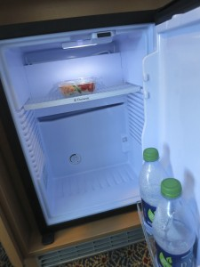 """The """"beverage chiller"""" in your stateroom looks like a refrigerator, but it's not quite as cold"""