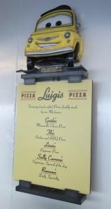 Counter service pizza