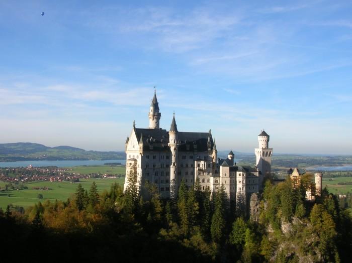 Neuschwanstein Castle; Walt's inspiration
