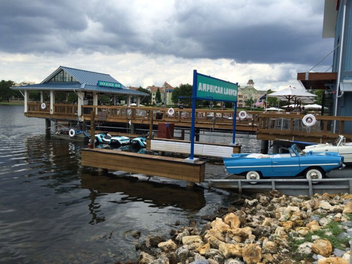 Amphicar Launch at the BOATHOUSE