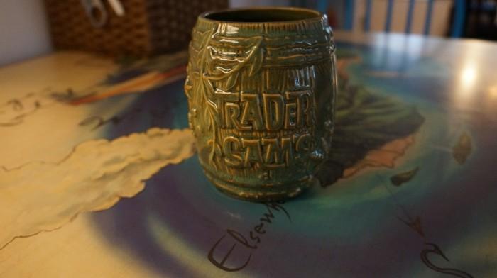 2nd edition Shipwreck barrel from Trader Sam's Enchanted Tiki Bar in Disneyland