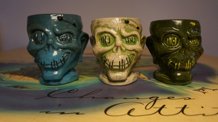 The Shrunken Zombie head is shrinking with each edition