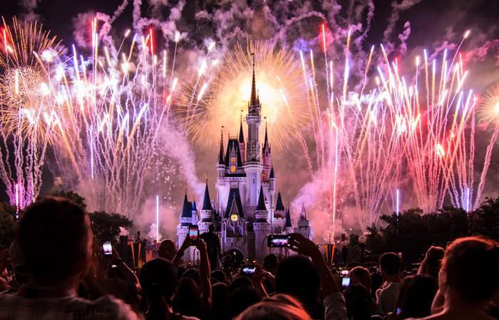 Magic Kingdom 4th of July Fireworks