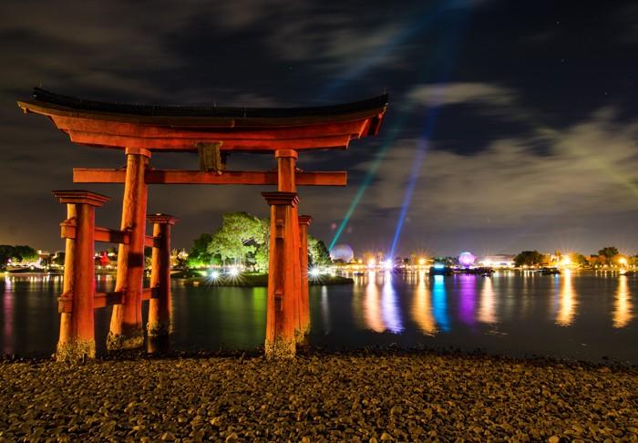 Torii Gate in Epcot MyMagic+