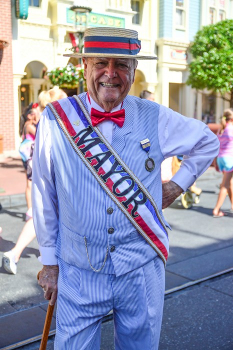 Mayor Weaver of Main Street, U.S.A.
