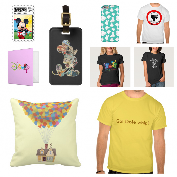 Sample Zazzle items.