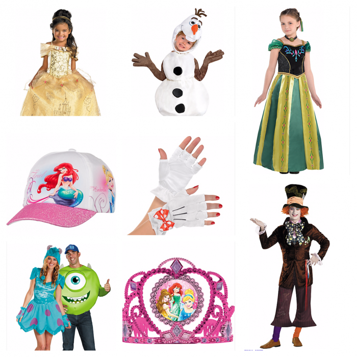 Sample Party City items.