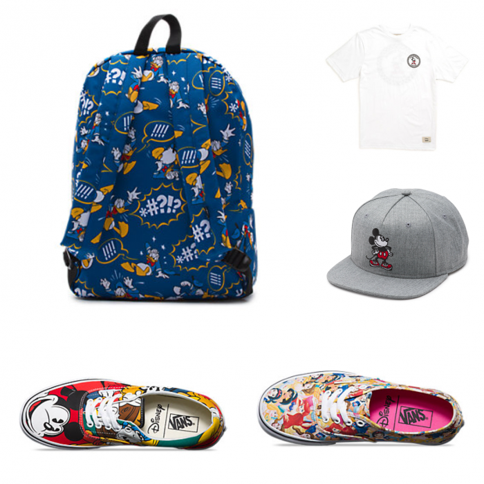 Sample Vans items.