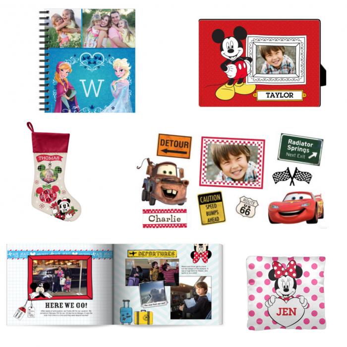 Sample Shutterfly items.