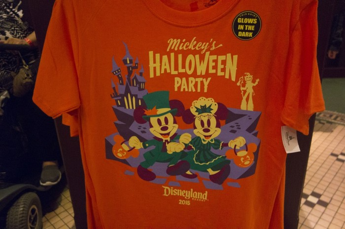 The 2015 Halloween party shirt.