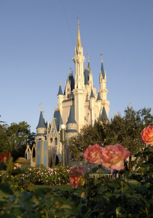 Cinderella Castle in the Spring