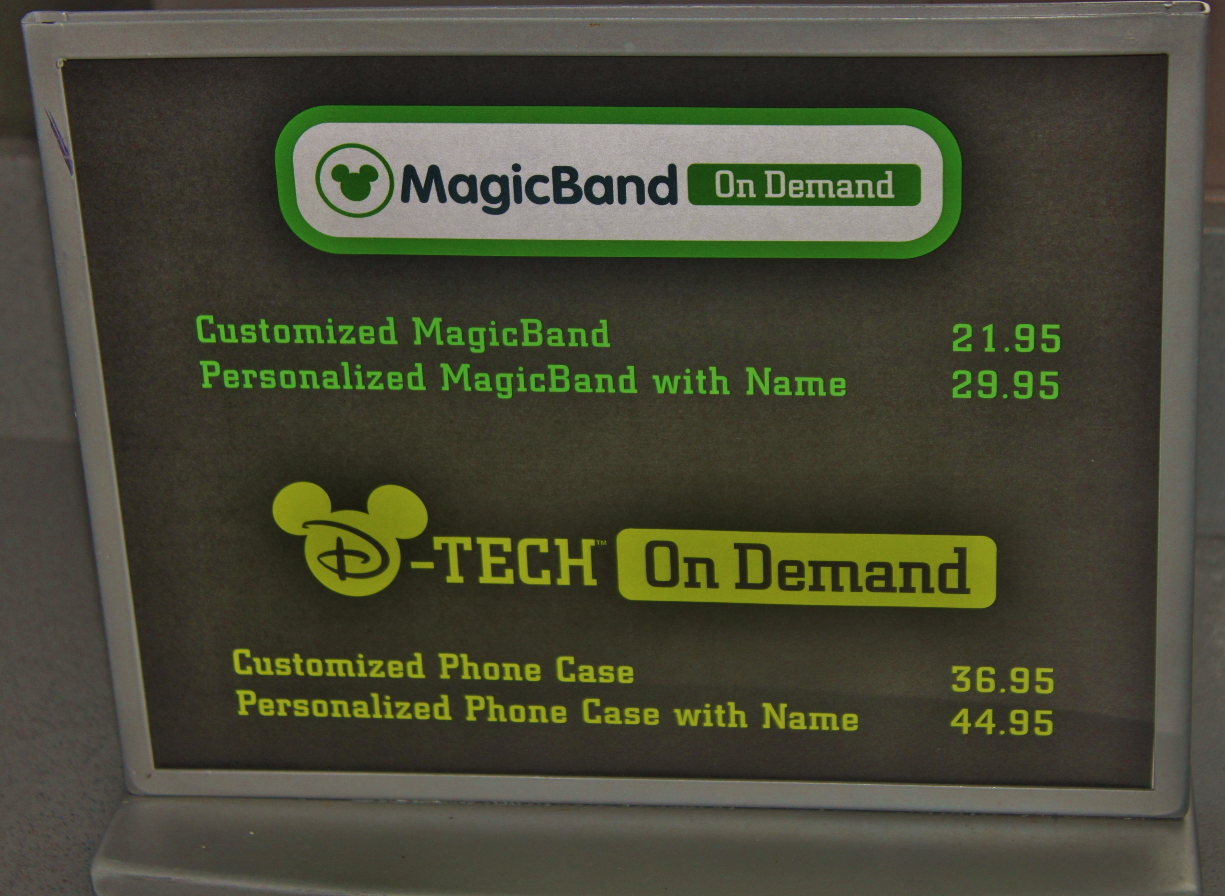 A Visit to Magic Kingdom\'s MagicBands on Demand Retail Location ...