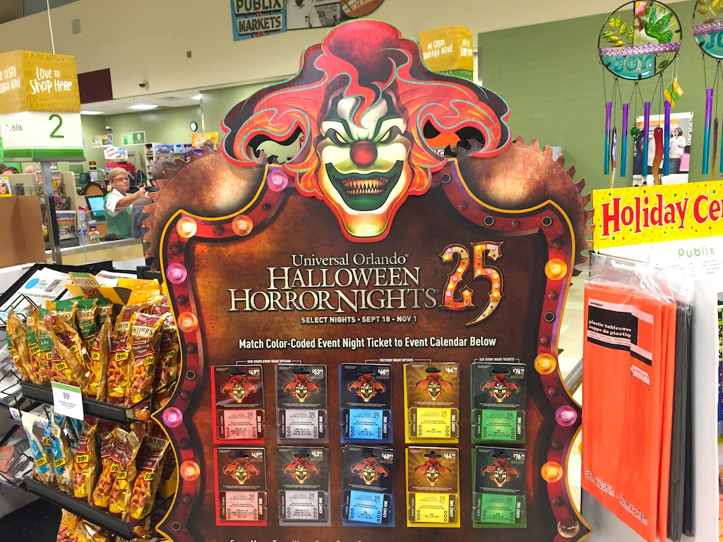 publix1 - Halloween Horror Nights Free Tickets