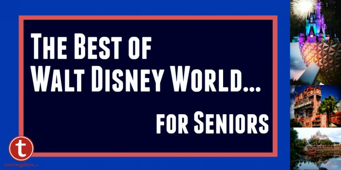 The Best of Walt Disney World for Seniors