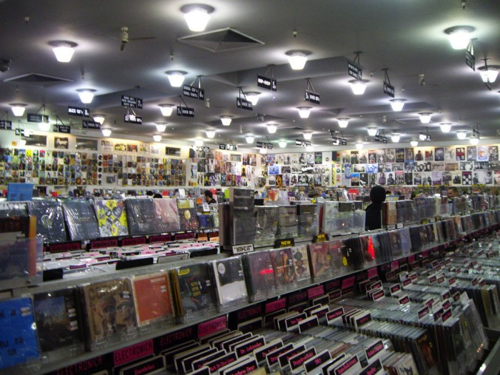 amoeba-music-interior