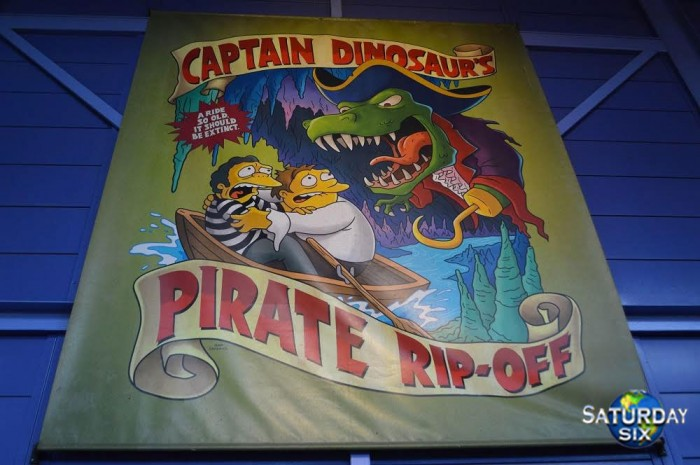 Captain Dinosaur's Pirate Rip-Off