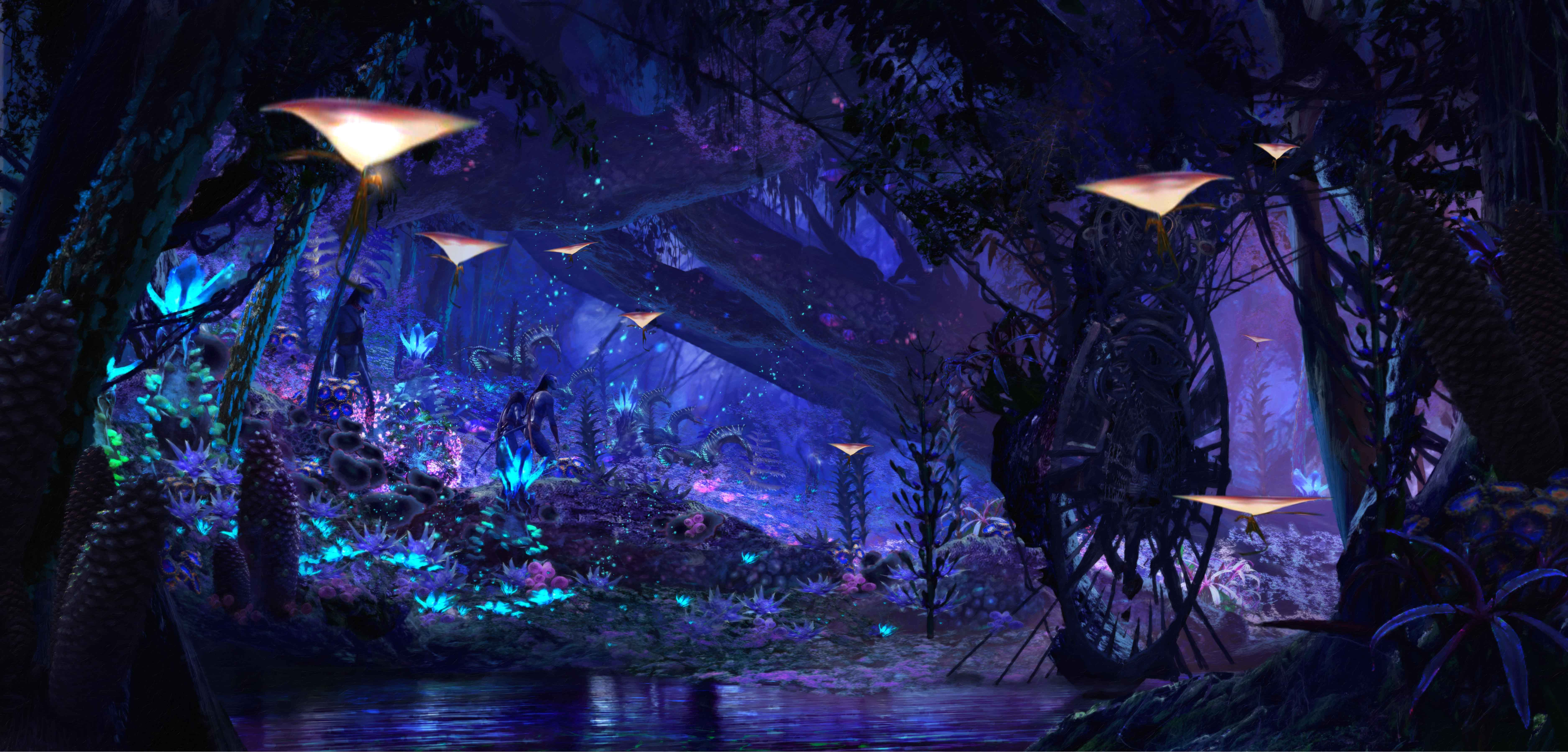 new details about pandora the world of avatar