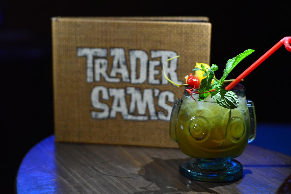 day twenty one hippopotomai tai at trader sams grog grotto - 12 Drinks Of Christmas