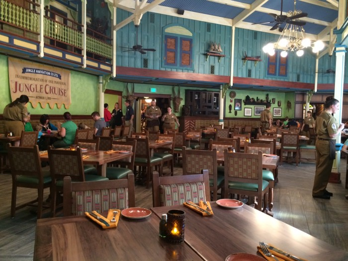 Main Dining Area of Skipper Canteen