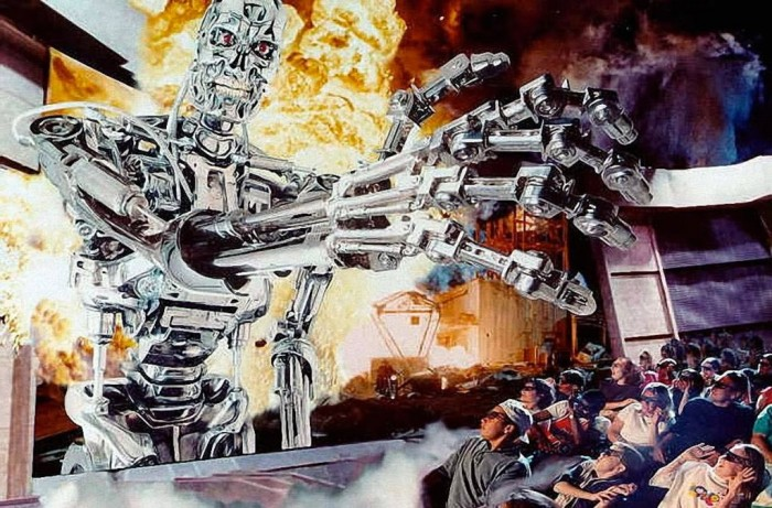 Terminator 2 3D promotional art